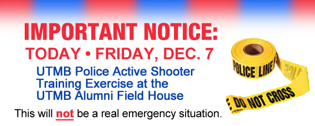 Active Shooter Training Exercise Set for Friday